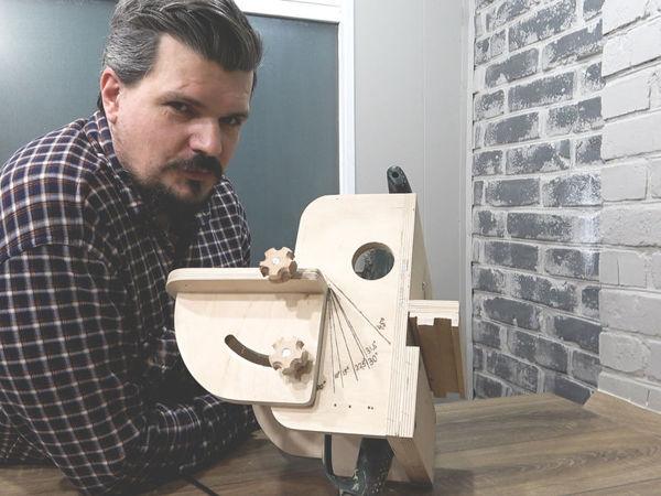 Способ разметки шкалы с углами наклона при шлифовании   Ярмарка Мастеров - ручная работа, handmade
