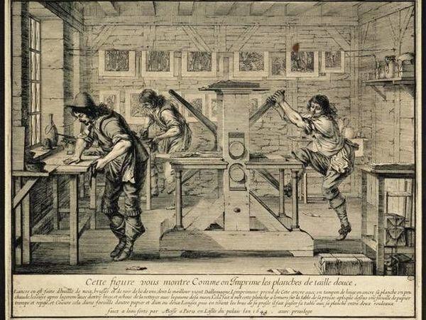 Из истории старинной печатной графики: художник и мастер | Ярмарка Мастеров - ручная работа, handmade