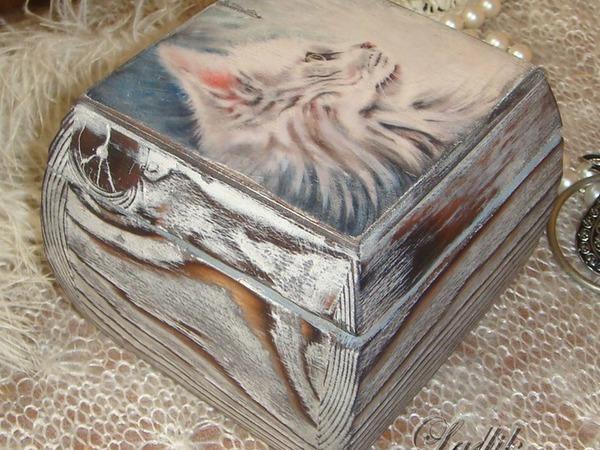 Шкатулка с историей. Прованс   Ярмарка Мастеров - ручная работа, handmade