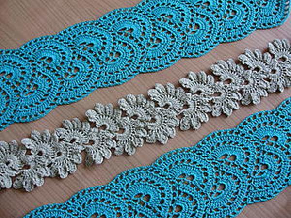 DIY Crocheting a Lace Tape | Livemaster - handmade