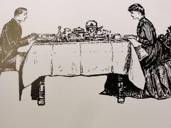 Немного о правилах этикета. Сервировка стола | Ярмарка Мастеров - ручная работа, handmade
