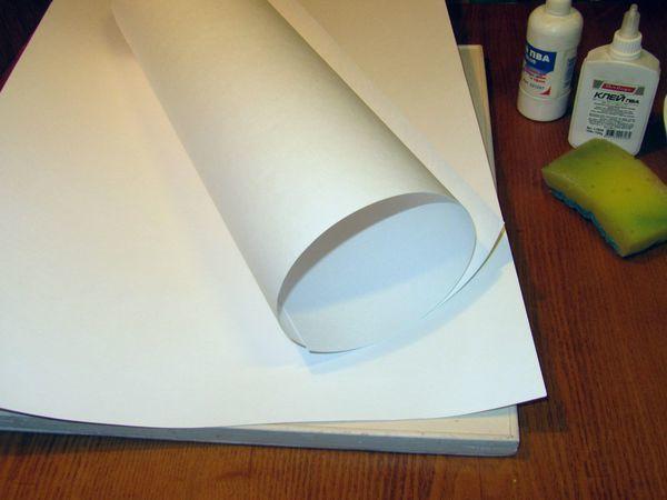 Натягиваем бумагу на планшет двумя способами | Ярмарка Мастеров - ручная работа, handmade