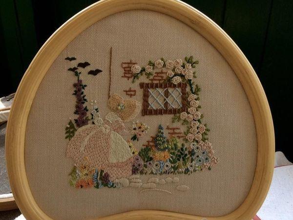 Мастер-класс по классической вышивке | Ярмарка Мастеров - ручная работа, handmade