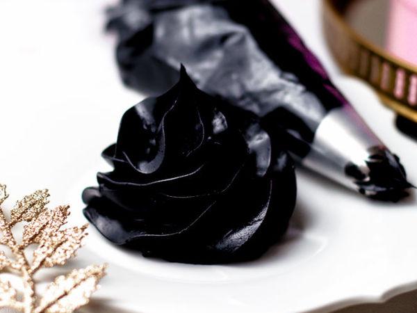 «Очень черный крем» : рецепт | Ярмарка Мастеров - ручная работа, handmade
