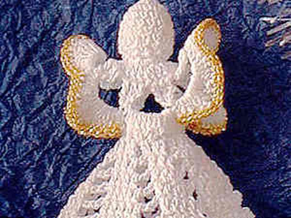 Вяжем Рождественского ангела | Ярмарка Мастеров - ручная работа, handmade
