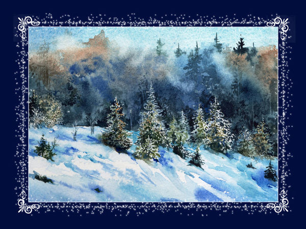 Новогодние открытки | Ярмарка Мастеров - ручная работа, handmade