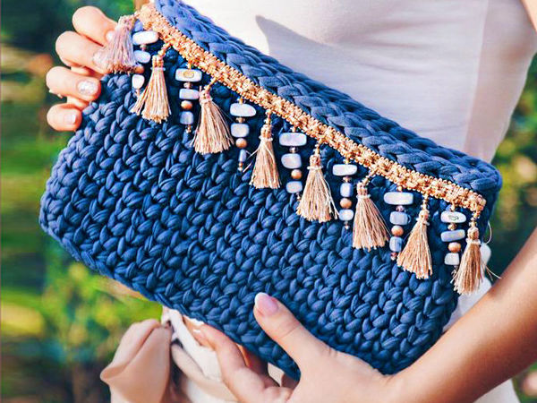 Подборка вязаных сумок на все случаи | Ярмарка Мастеров - ручная работа, handmade