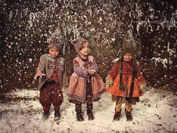 Волшебные сказки в Рождественских фотографиях детей | Ярмарка Мастеров - ручная работа, handmade