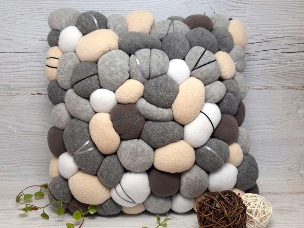 Шьём «каменную» подушку | Ярмарка Мастеров - ручная работа, handmade
