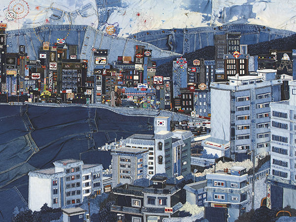 Incredible Denim Cities by Choi So Young | Livemaster - handmade