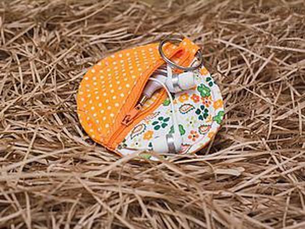 Шьем милый чехол для наушников и иных мелочей | Ярмарка Мастеров - ручная работа, handmade