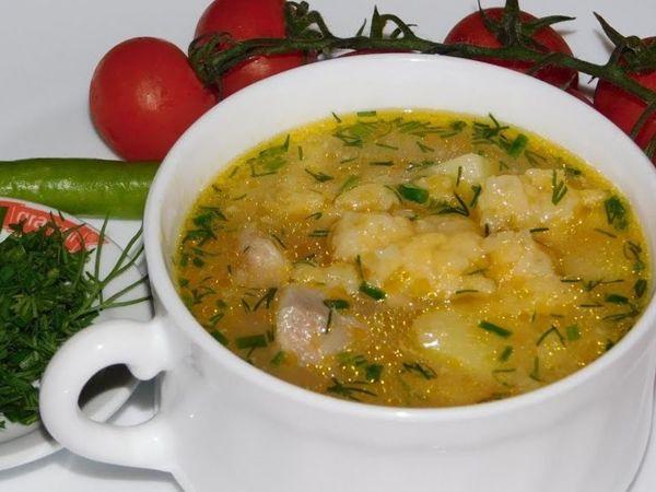 Суп с затиркой — Затируха   Ярмарка Мастеров - ручная работа, handmade