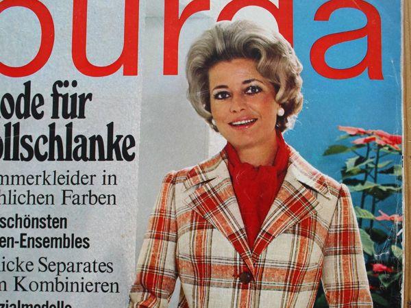 Бурда — спец. выпуск — мода для полных   -1972   Ярмарка Мастеров - ручная работа, handmade