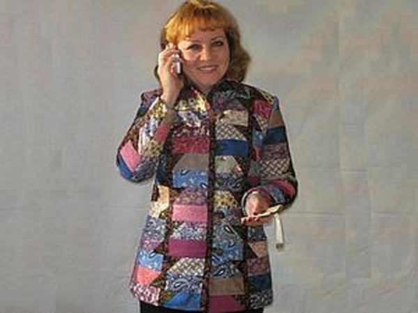 Мастер-класс: Лоскутный жакет-куртка