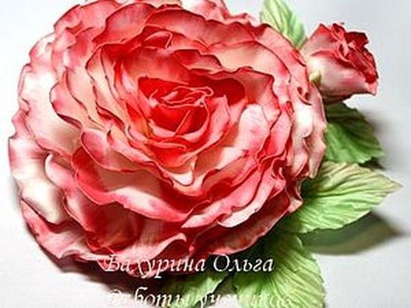 Цветы из ткани.Мастер-класс.Обучение цветоделию | Ярмарка Мастеров - ручная работа, handmade