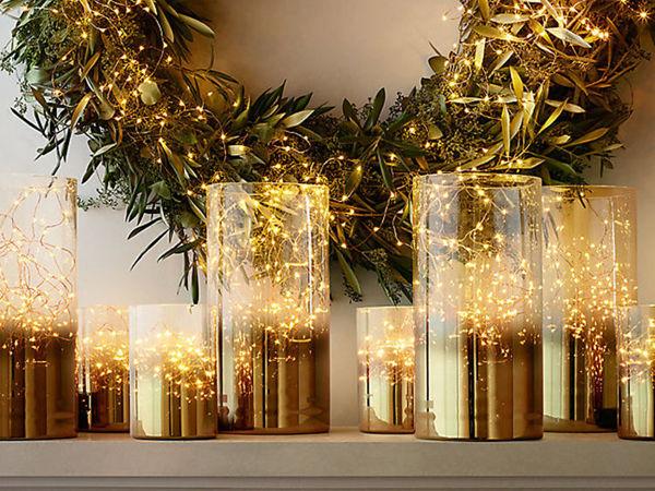 Золотой новогодний декор: 15 классных идей | Ярмарка Мастеров - ручная работа, handmade