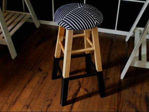 Как сделать стильное мягкое сиденье для деревянного стула | Ярмарка Мастеров - ручная работа, handmade