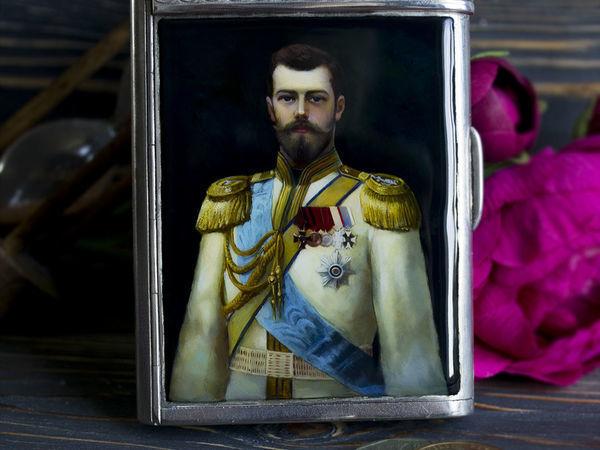 Видеоурок: рисуем портрет императора! | Ярмарка Мастеров - ручная работа, handmade