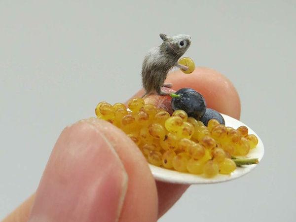Когда не веришь собственным глазам: крошечные создания Fanni Sandor