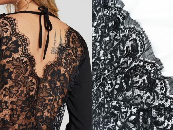 Роскошь, доступная каждому – французское кружево Sophie Hallette в отделке одежды | Ярмарка Мастеров - ручная работа, handmade