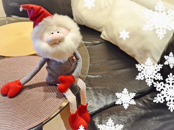 Видео мастер-класс: шьем новогоднего гнома | Ярмарка Мастеров - ручная работа, handmade