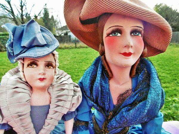 Скоро Новый год, идеи для подарков в моем магазине: редкие будуарные куклы Изабель и Лоранс - уже в магазине! | Ярмарка Мастеров - ручная работа, handmade