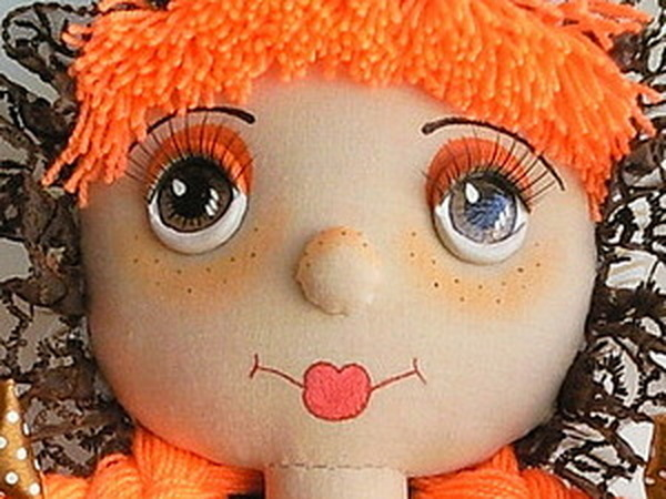 Объемные глазки для кукол | Ярмарка Мастеров - ручная работа, handmade