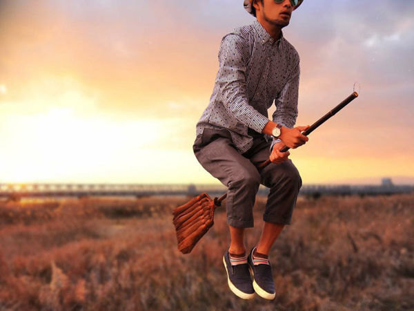 The Most Devoted Harry Potter Fan: Japanese Halno Kujiraoka Travels The World And Takes Photos On Broom | Livemaster - handmade
