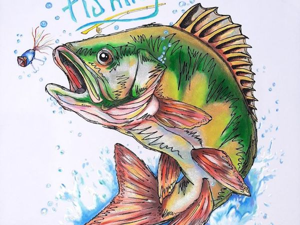 Рыбалочка | Ярмарка Мастеров - ручная работа, handmade