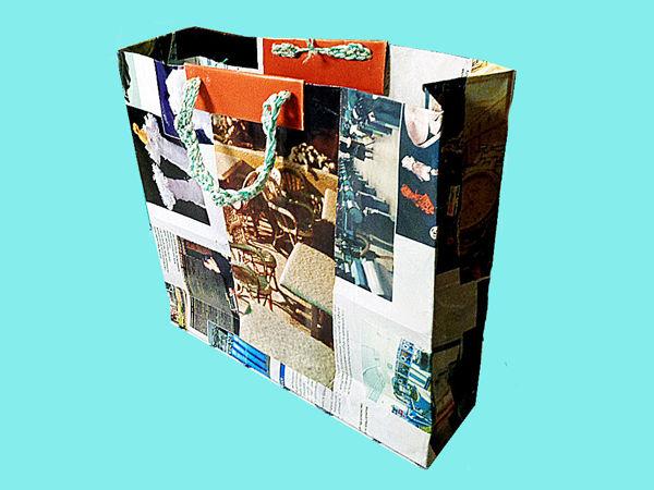 Мастерим бумажные пакеты из глянцевых журналов | Ярмарка Мастеров - ручная работа, handmade