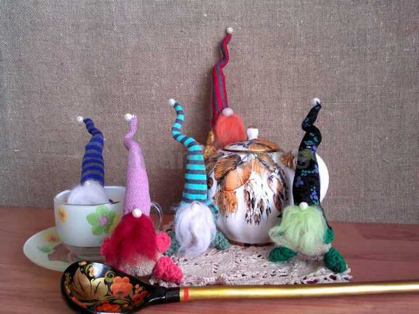 Шьем гномика на удачу | Ярмарка Мастеров - ручная работа, handmade