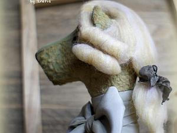 Мастер-класс: делаем съемный парик для медведя тедди | Ярмарка Мастеров - ручная работа, handmade
