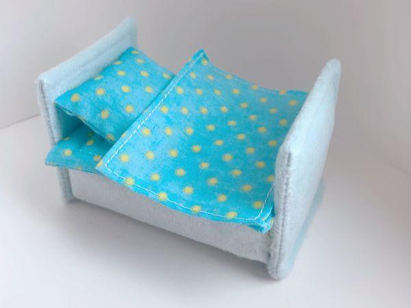 Делаем кроватку для куколки-малышки из обычной губки | Ярмарка Мастеров - ручная работа, handmade