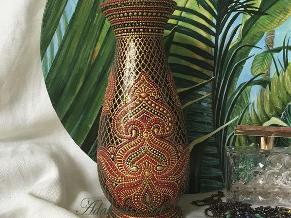 Дар Махараджи. Ваза | Ярмарка Мастеров - ручная работа, handmade