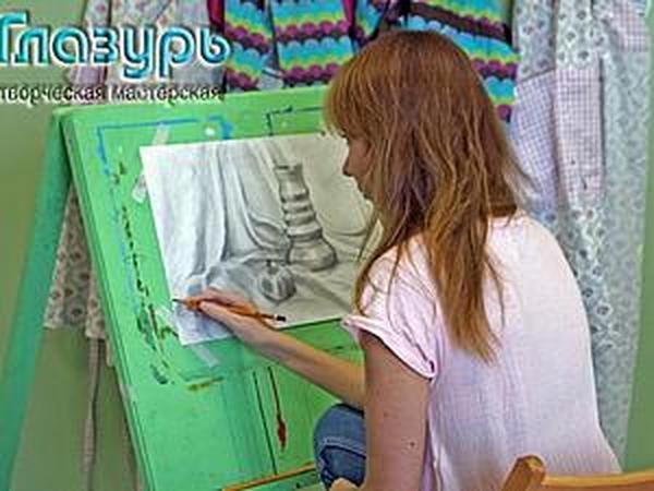 Уроки рисования для взрослых | Ярмарка Мастеров - ручная работа, handmade