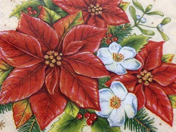 Новогодние салфетки по 10 рублей!!! | Ярмарка Мастеров - ручная работа, handmade