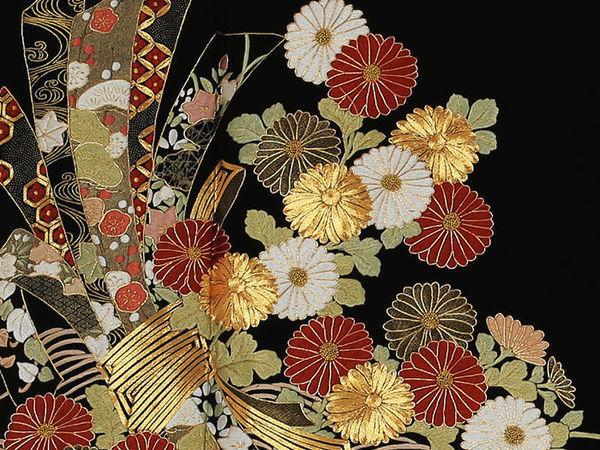 The Extraordinary Beauty of Japanese Embroidery   Livemaster - hecho a mano - handmade