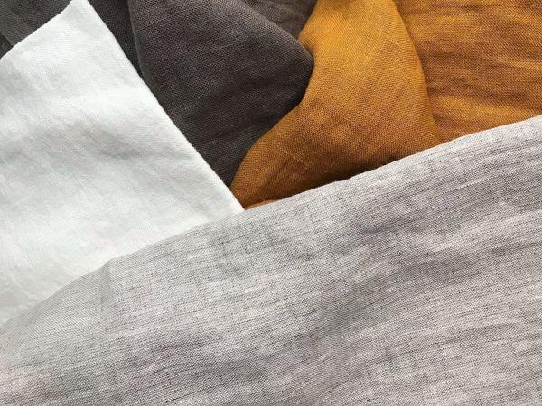 Новые Цвета 100% Льна | Ярмарка Мастеров - ручная работа, handmade