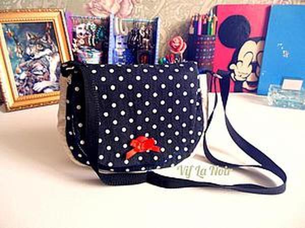 Как сшить милую сумочку для девочки | Ярмарка Мастеров - ручная работа, handmade