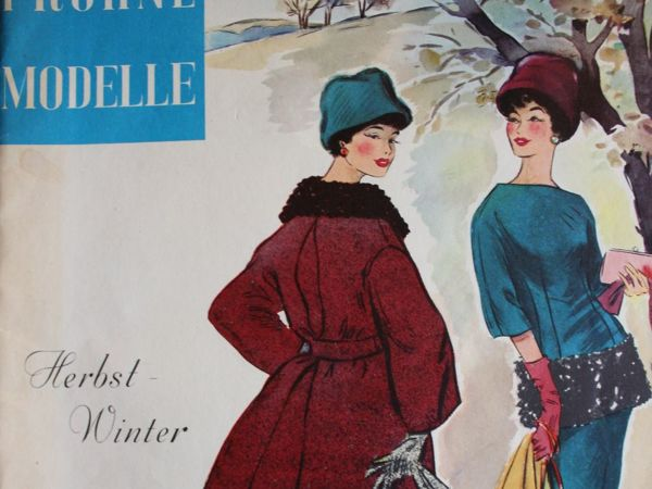 Frohne Modelle — старый  журнал мод -Осень-Зима 1960- Редкость | Ярмарка Мастеров - ручная работа, handmade