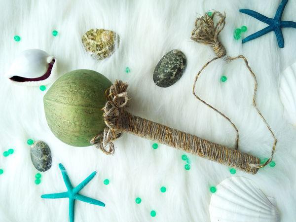 Видео к работе Зеленый маракас горох гречка в мешочке | Ярмарка Мастеров - ручная работа, handmade