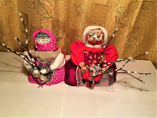 Кукла Вербница в народном стиле   Ярмарка Мастеров - ручная работа, handmade