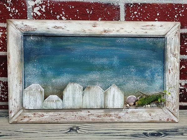 «У моря»  фантазия на тему DriftWood Art | Ярмарка Мастеров - ручная работа, handmade