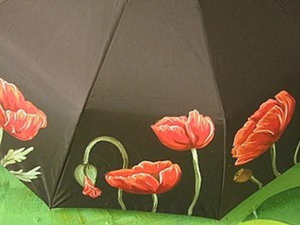 Мастер-класс по росписи зонтов. | Ярмарка Мастеров - ручная работа, handmade