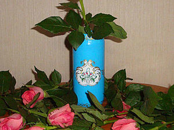 Как обычная банка стала вазой | Ярмарка Мастеров - ручная работа, handmade