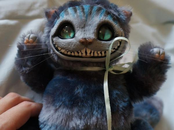 Чеширский кот для Алисы | Ярмарка Мастеров - ручная работа, handmade