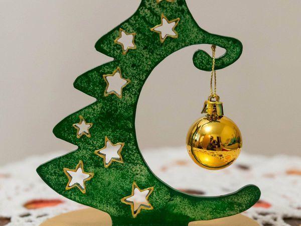 Делаем новогодний сувенир «Ёлочка» | Ярмарка Мастеров - ручная работа, handmade
