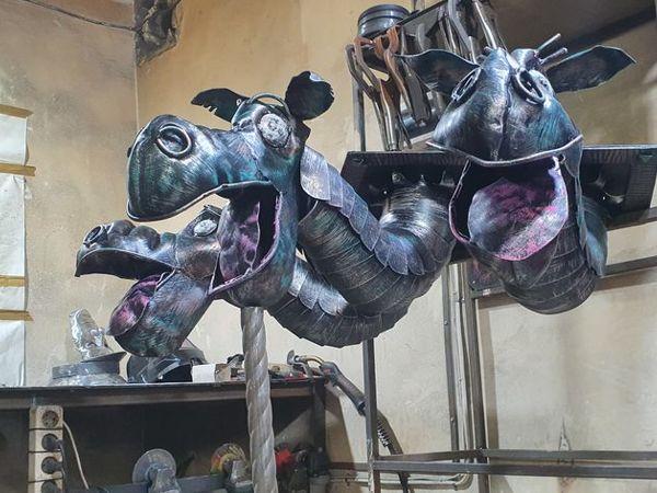 Фонарь горыныч (Ковка) | Ярмарка Мастеров - ручная работа, handmade