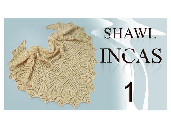 Часть 1. Вяжем шаль «Инкас» спицами. Подробный мастер-класс. Вязание ленточки   Ярмарка Мастеров - ручная работа, handmade