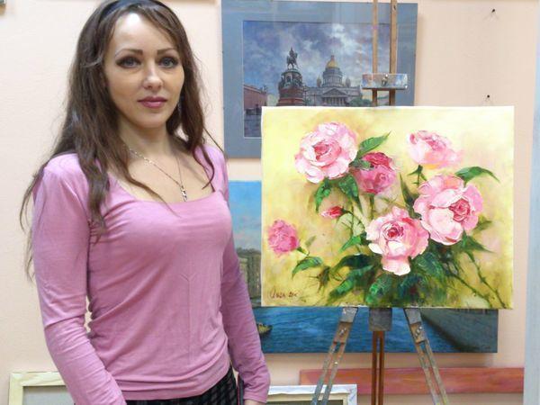 Мастер класс масляной живописи для взрослых и детей в Спб | Ярмарка Мастеров - ручная работа, handmade